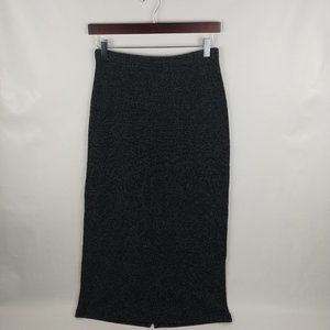 Crazy Horse Tweed A Line Long Modest Skirt Size Sm